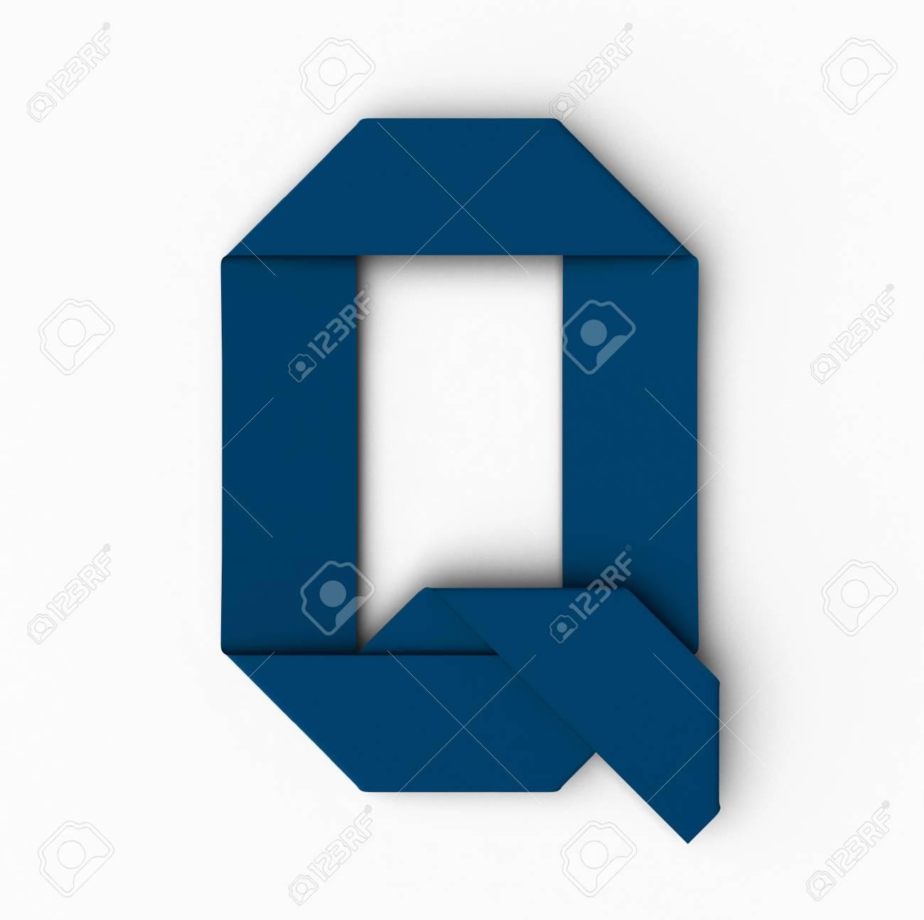 blue q origami