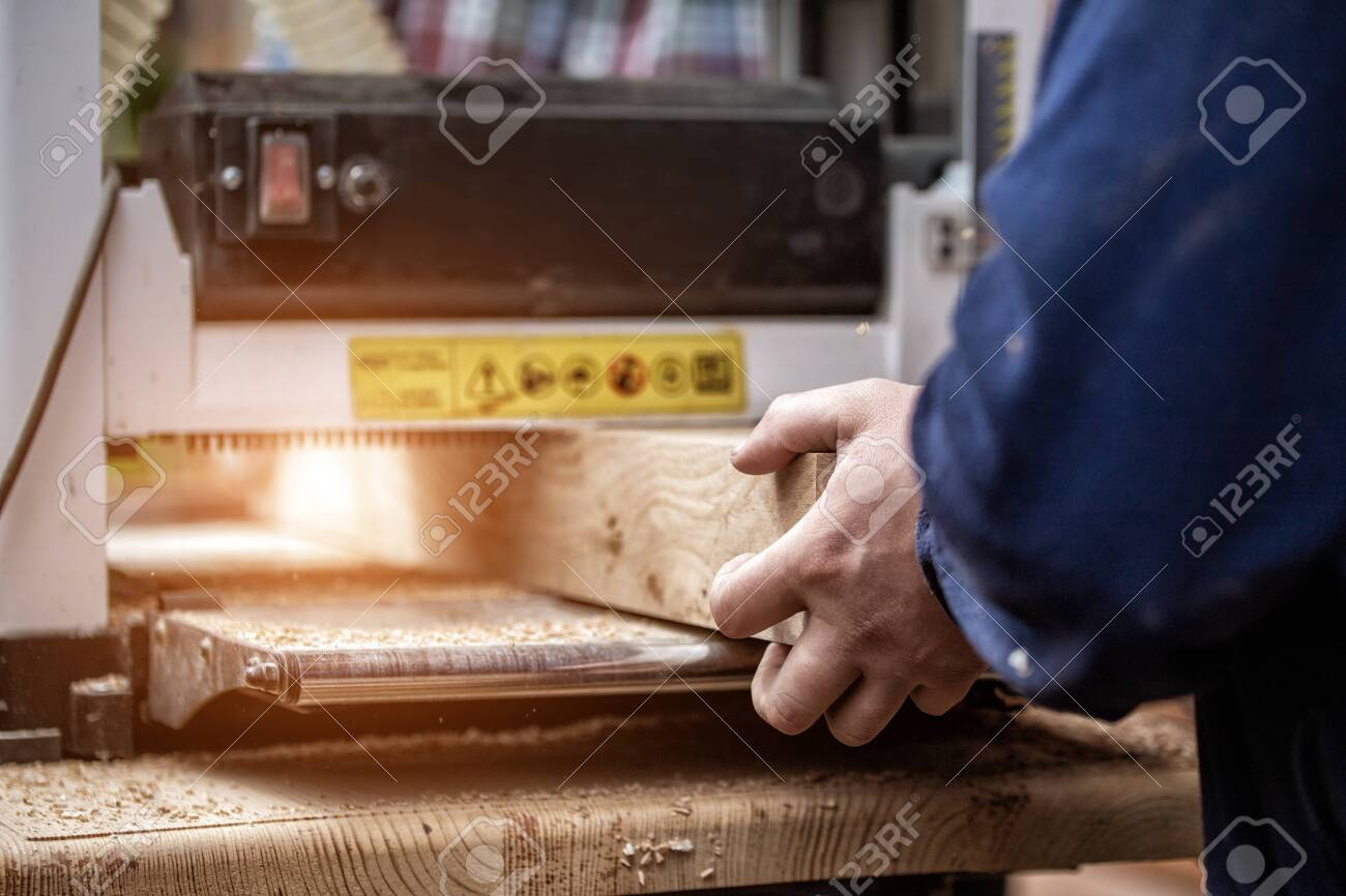Craftsman Woodworking At Carpentry With Lots Of Modern Professional