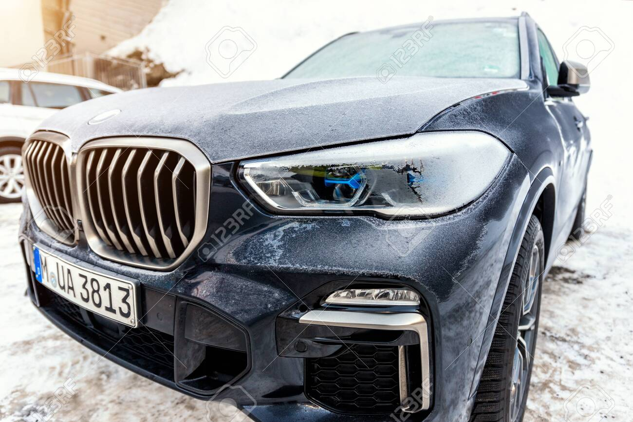 Ischgl Austria January 10th 2020 Newest Latest Bmw X5 G05 Stock Photo Picture And Royalty Free Image Image 141904915
