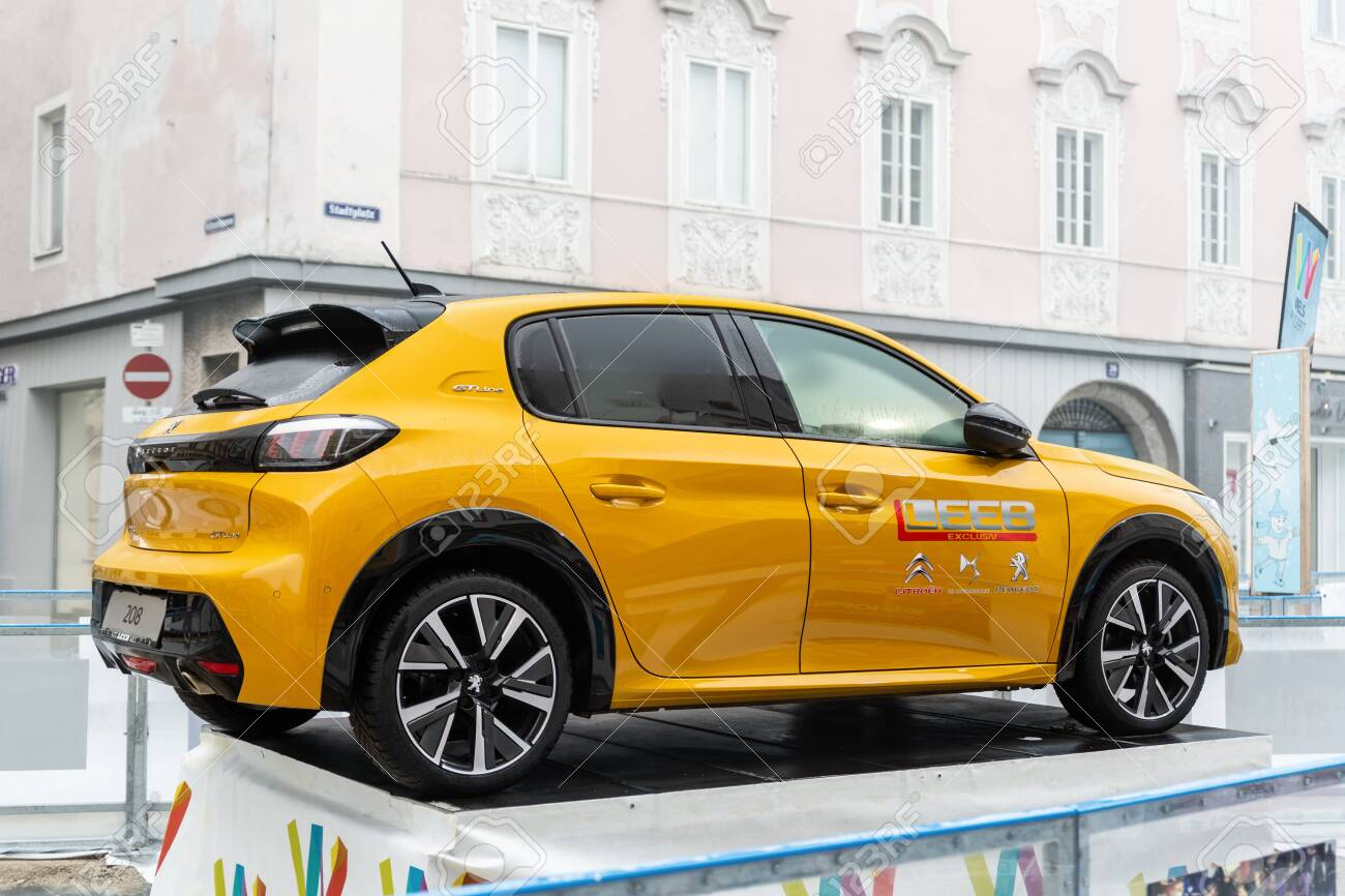 Wels Austria January 12th 2020 Newest Peugeot 208 Gt Line Stock Photo Picture And Royalty Free Image Image 141904918