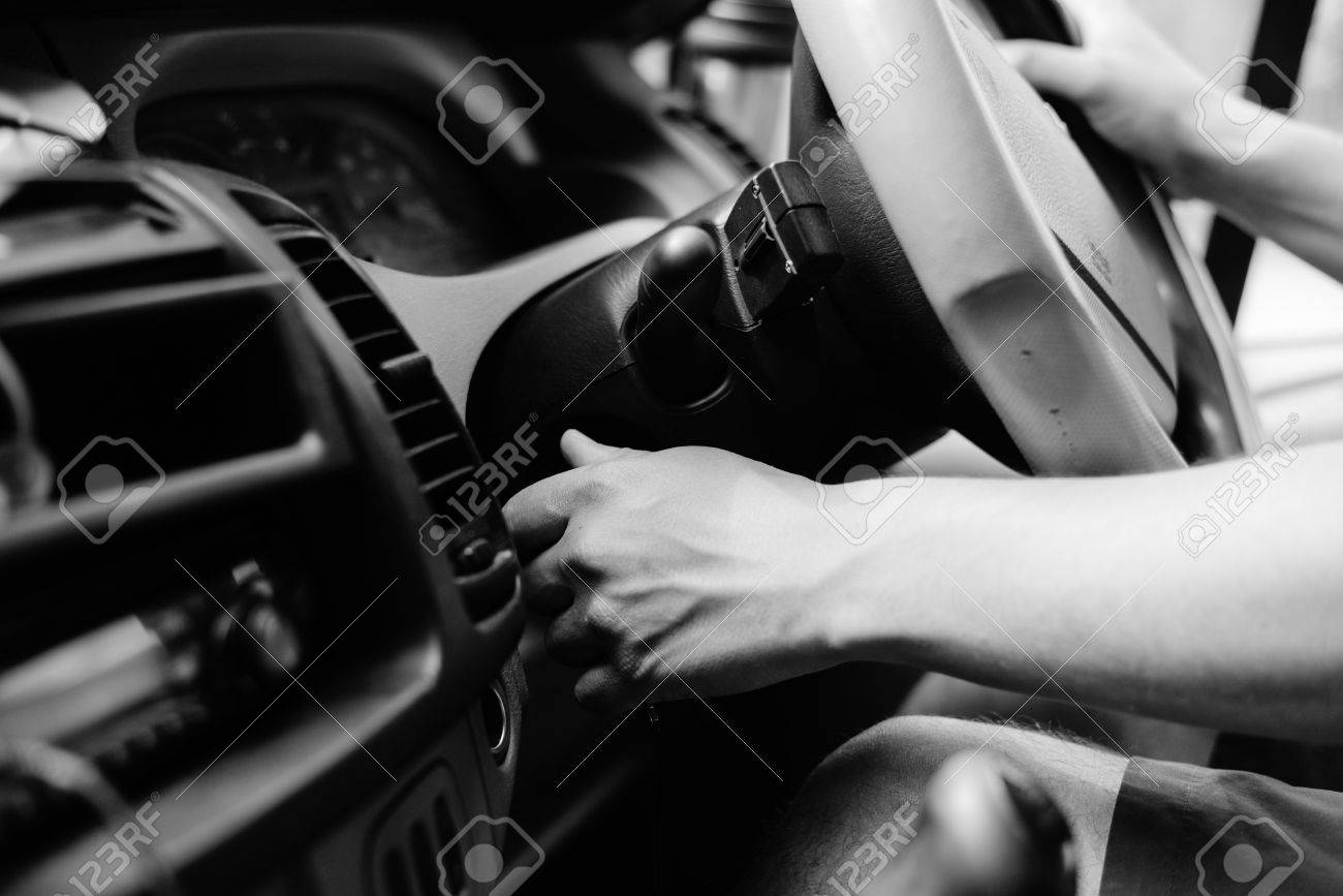 Uk Right Hand Drive Car Black White Photography Driver Closeup Stock Photo Picture And Royalty Free Image Image 58294308