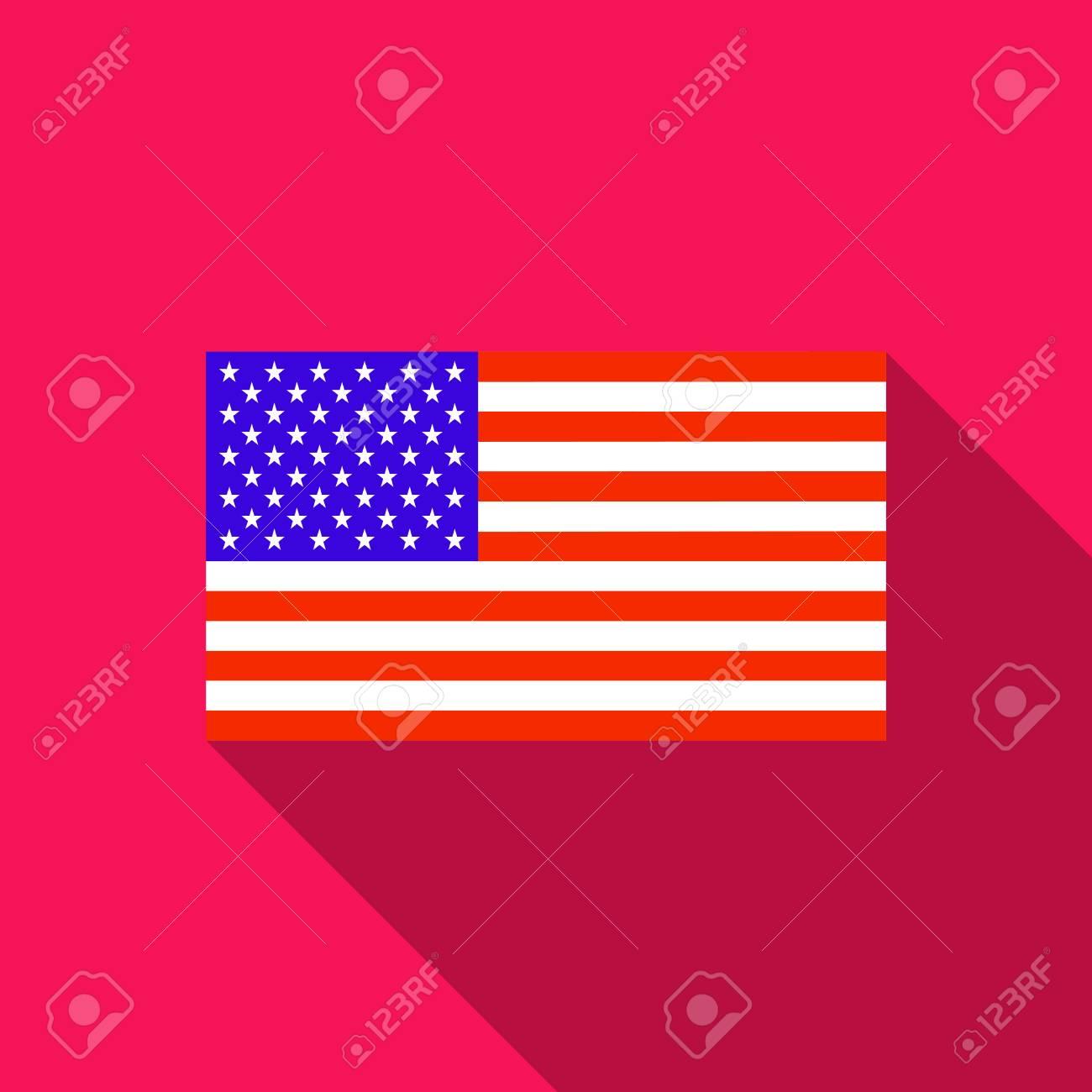 les Etats unis drapeau