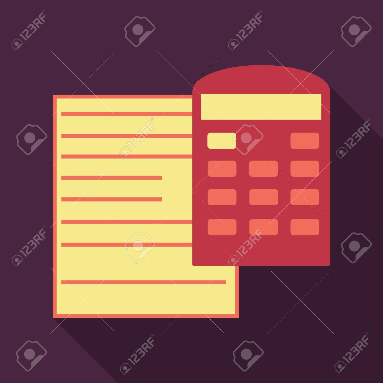 tax accounting budget calculation clipboard tax form calculator