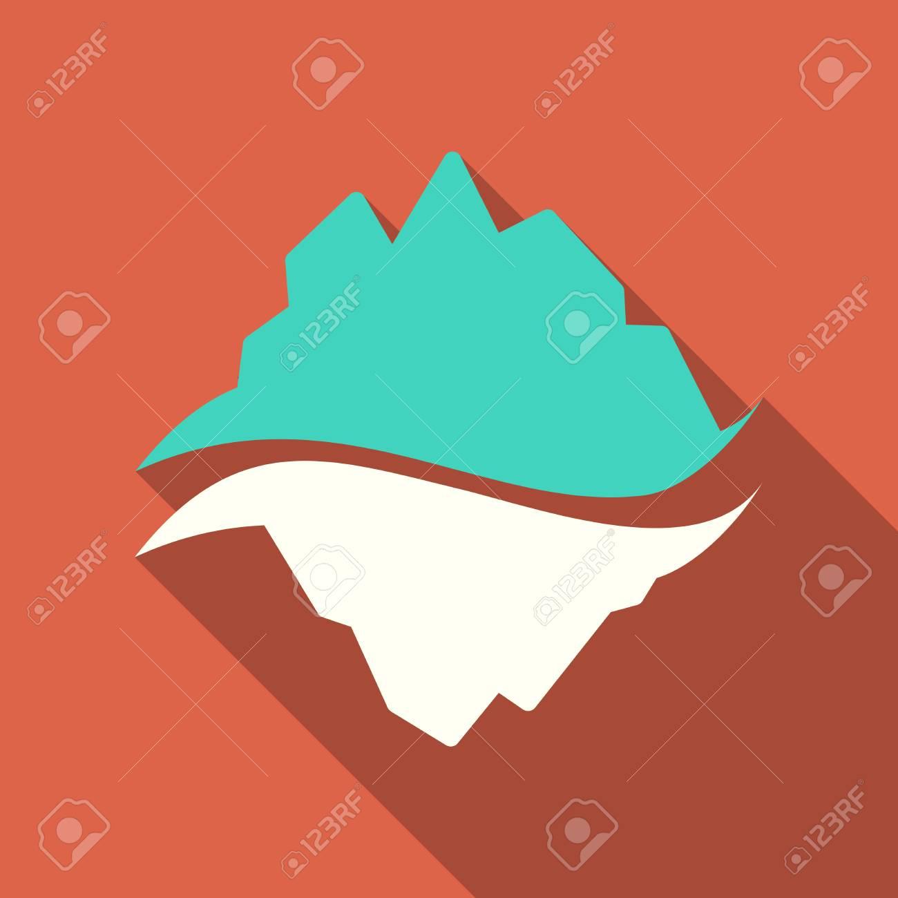 ice berg vector icon iceberg vector eps clip art royalty free rh 123rf com titanic iceberg clipart iceberg clipart free