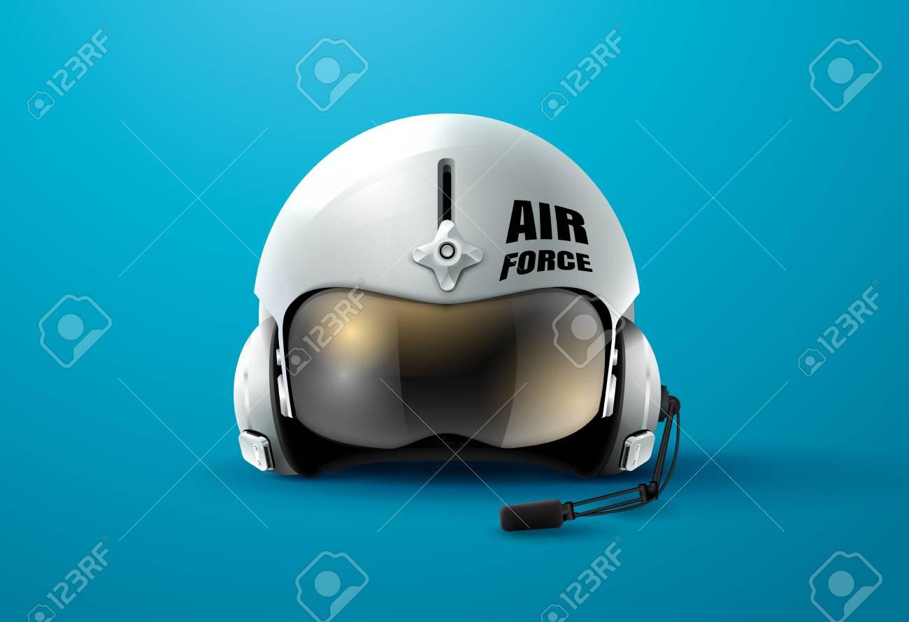 bdcd8599d0 Pilot Jet Helmet Aviator Vector Illustration Royalty Free Cliparts ...