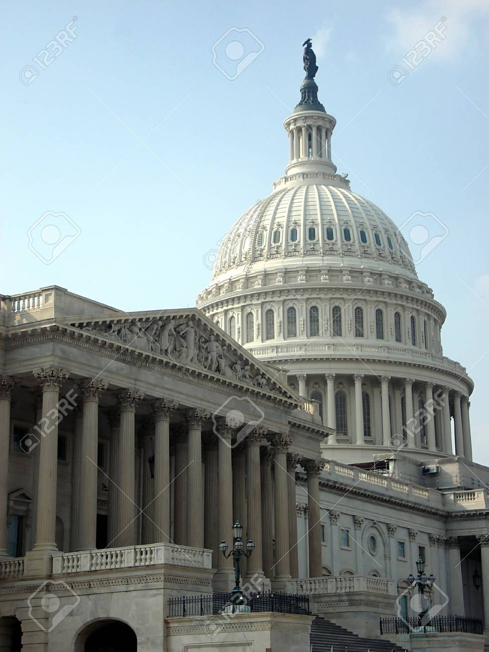 Government and Capitol Dome in Washington DC Stock Photo - 16906030