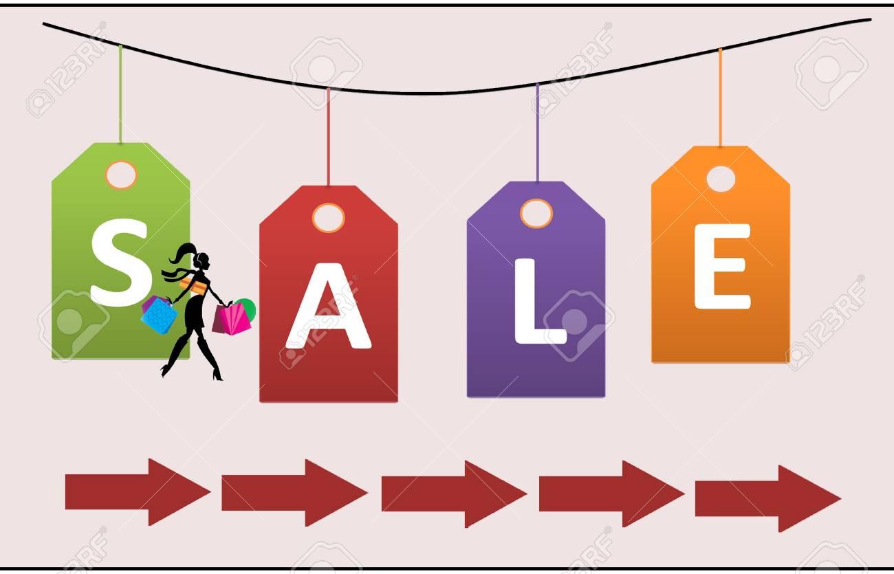 Sale cardboard Stock Photo - 17597239