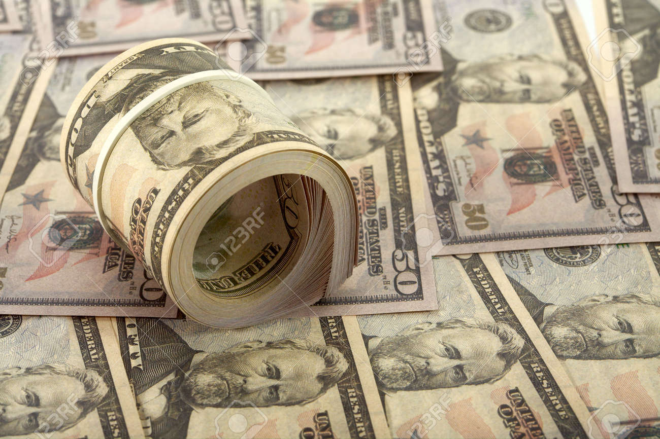 A plenty of available American dollars. Stock Photo - 6199317