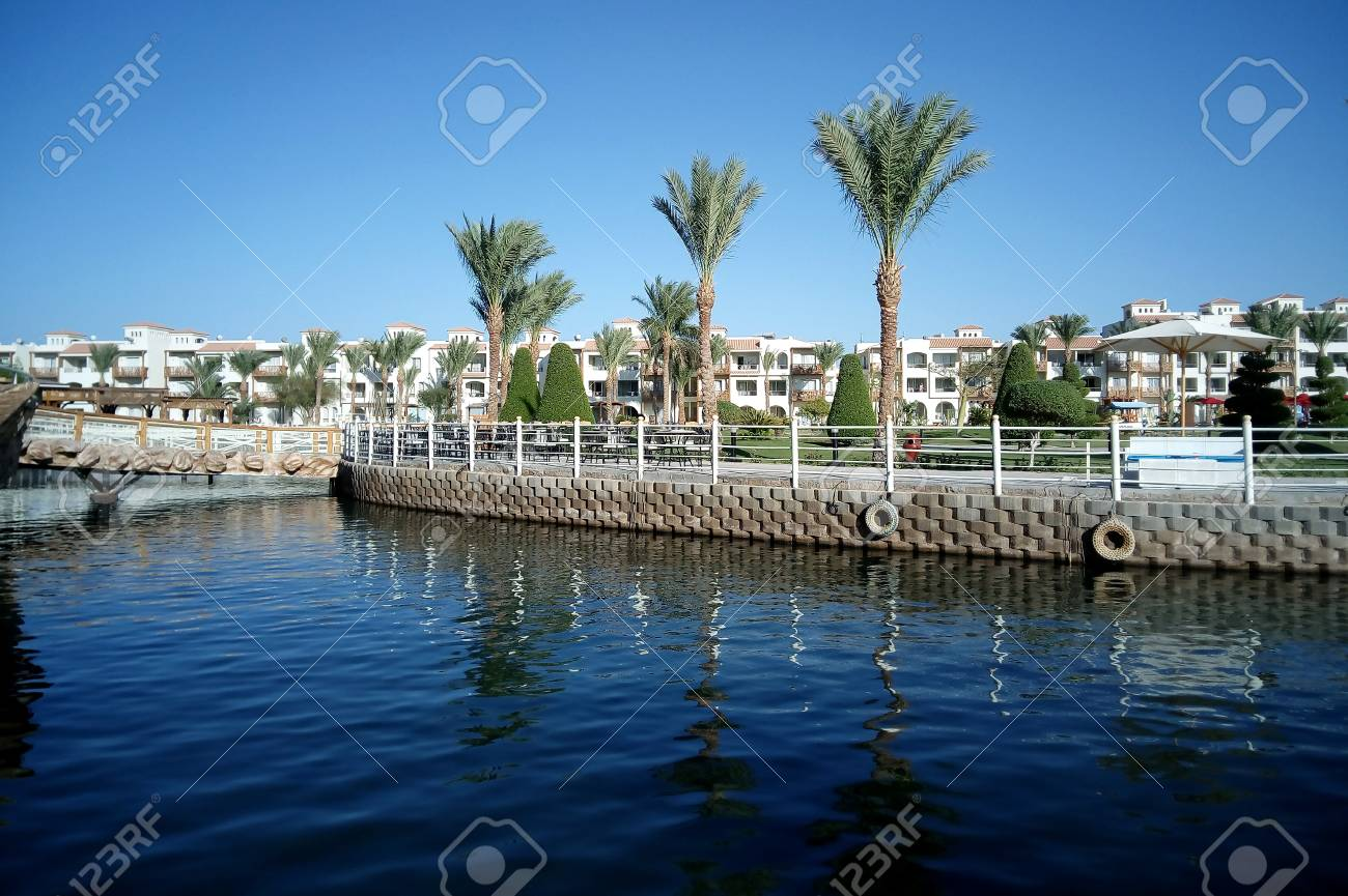 Hurghada Egypt August 15 2015 Luxurious 5 Star Hotel Dana Stock Photo Picture And Royalty Free Image Image 74597109