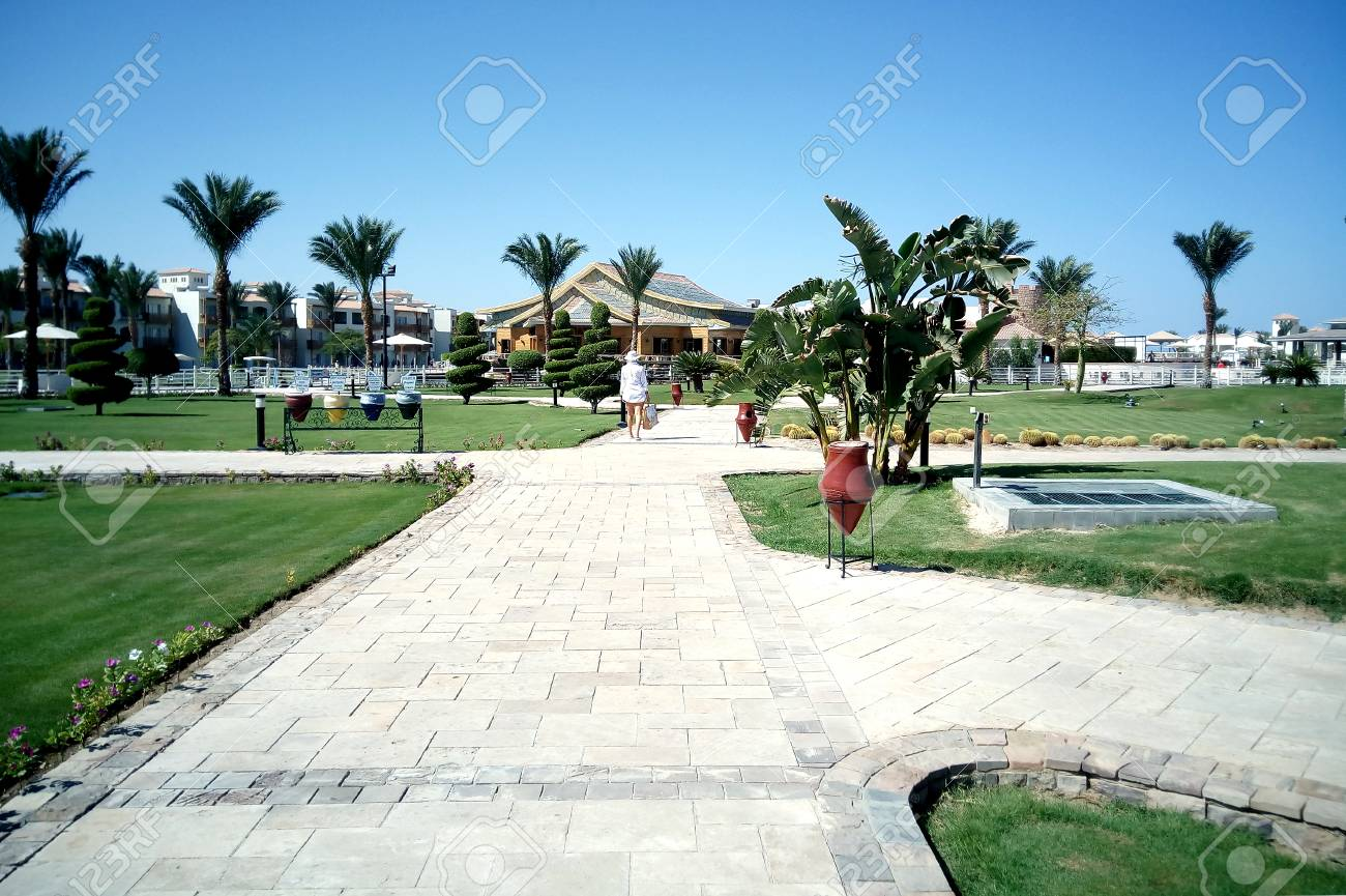 Hurghada Agypten 15 August 2015 Luxurioses 5 Sterne Hotel Dana