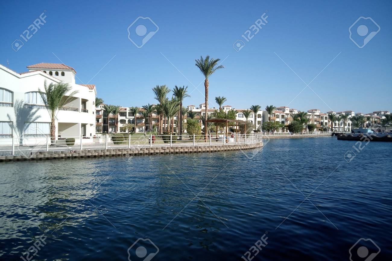 Hurghada Egypt August 15 2015 Luxurious 5 Star Hotel Dana Stock Photo Picture And Royalty Free Image Image 74597261