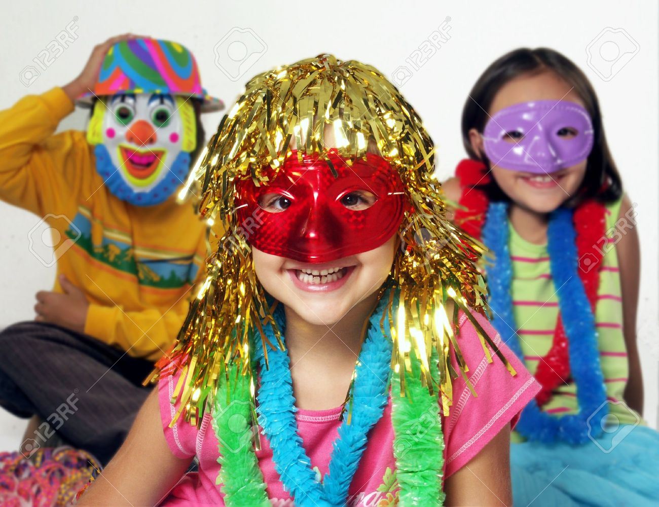 Uncategorized Carnival For Kids three carnival kids having fun together stock photo picture and 22695096