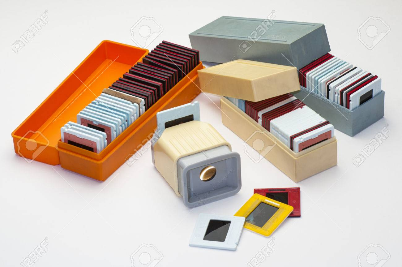 Cajas De Plástico Soviéticos Para El Almacenamiento De Diapositivas ...