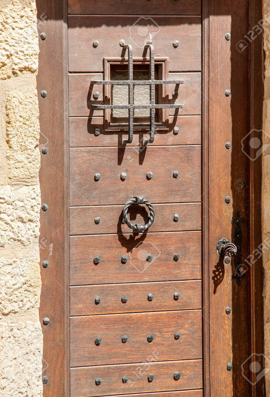 Old Entry Door Stock Photo Picture And Royalty Free Image Image