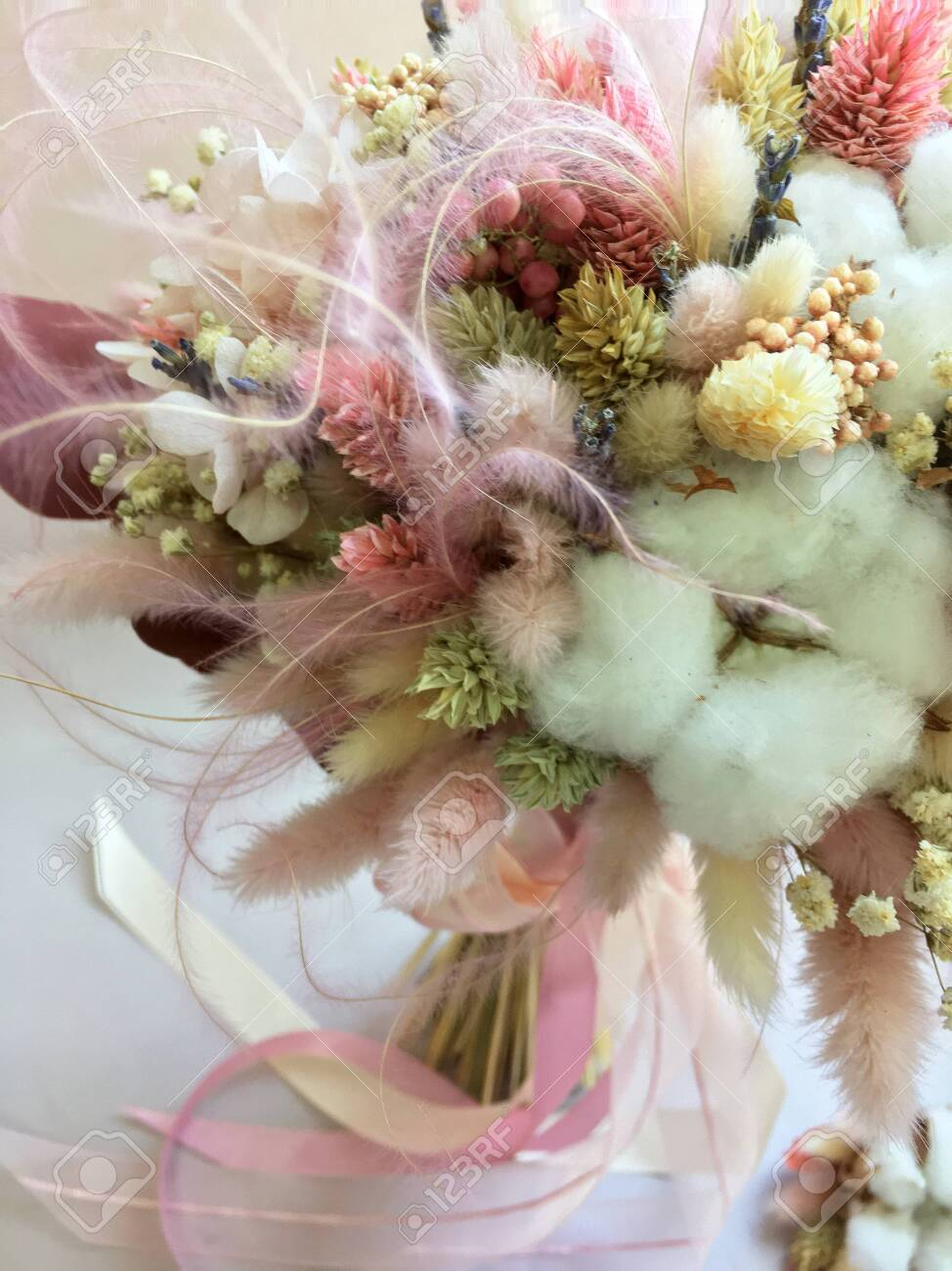 A Stunning Bouquet Made From Quality Preserved Roses Hydrangeas Stock Photo Picture And Royalty Free Image Image 150052013
