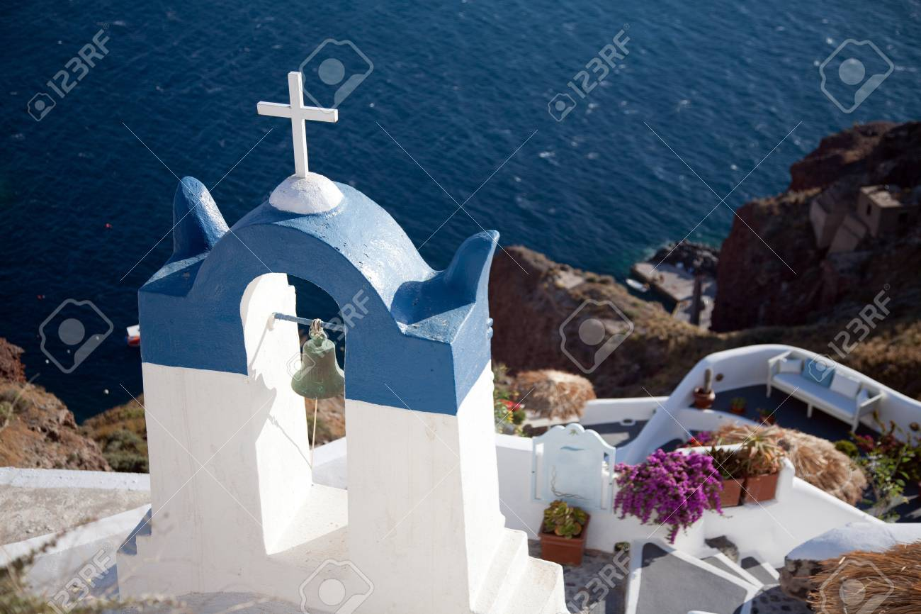 Greece chapel Stock Photo - 11373922