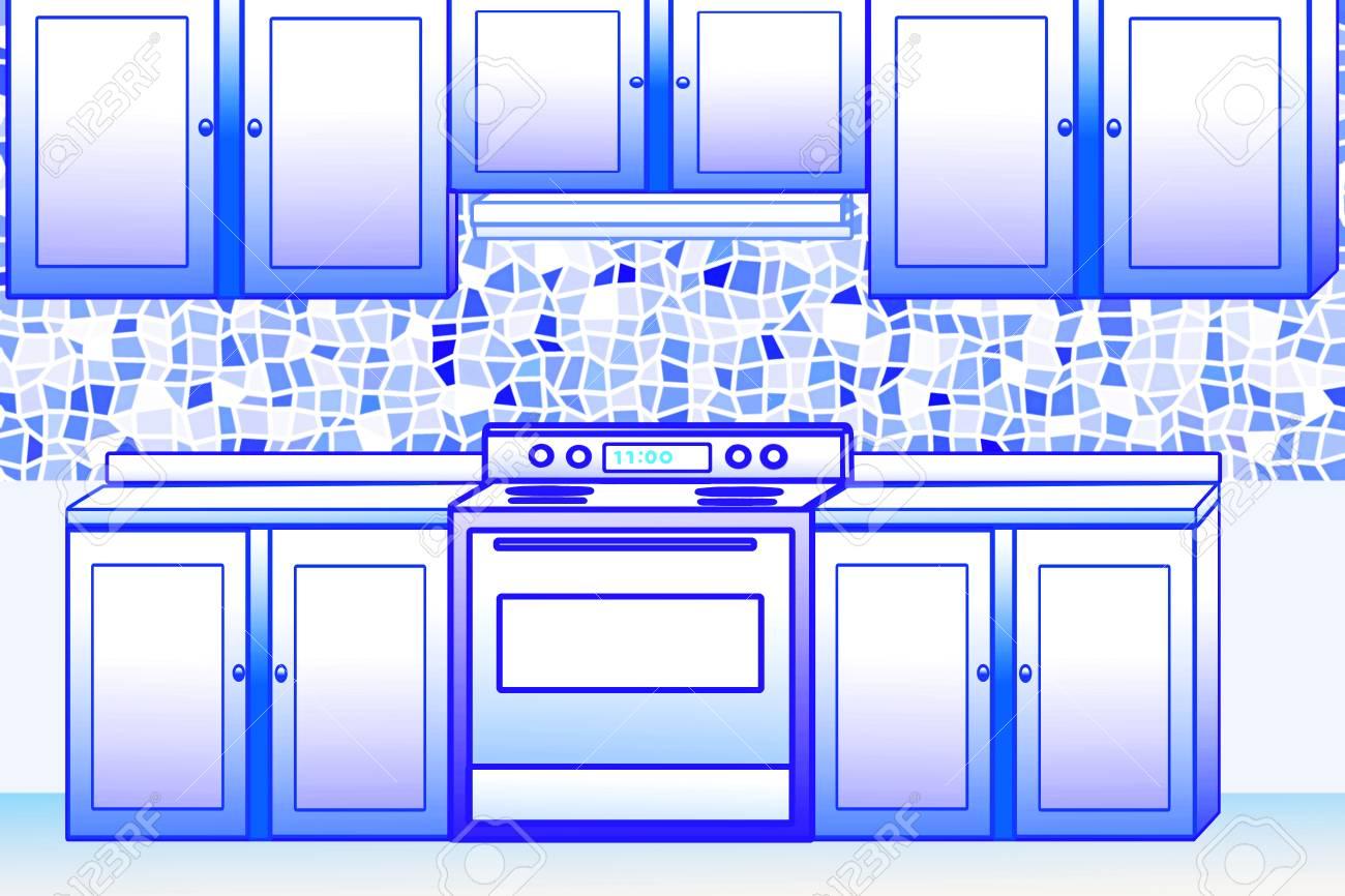 Küche Und Gehäuse-Design Für Die Küche Bezogenen Geschäfts ...