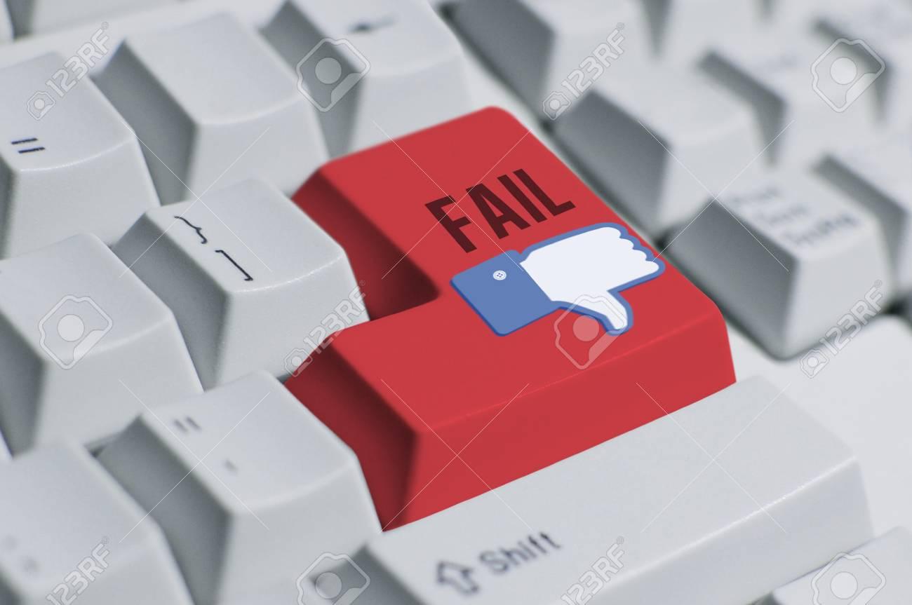 You Fail!---keyboard 2 Stock Photo - 11842177