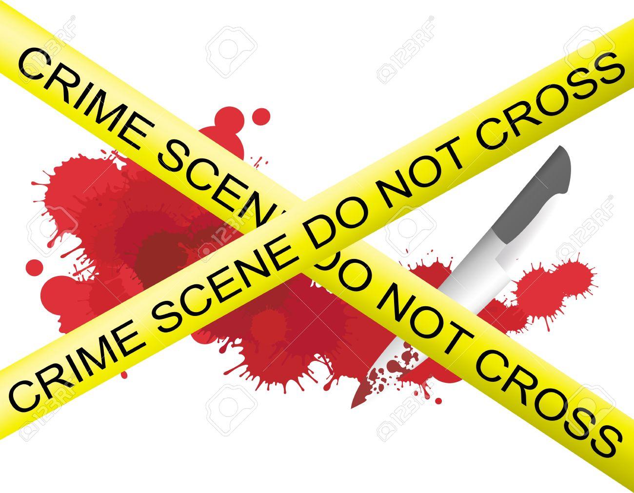 Image result for Red blood splatter with knife crime scene