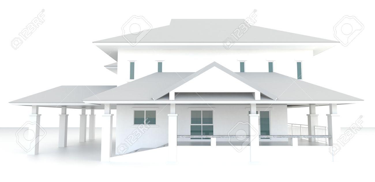 plan de maison exterieur