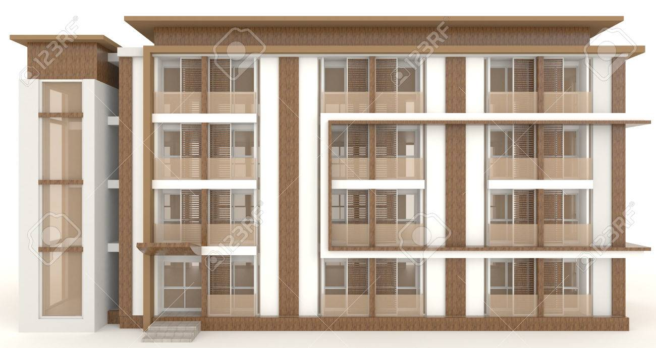 Wooden office buildings Construction Stock Photo Wooden Office Building Exterior Design In White Background Create By 3d 123rfcom Wooden Office Building Exterior Design In White Background Create