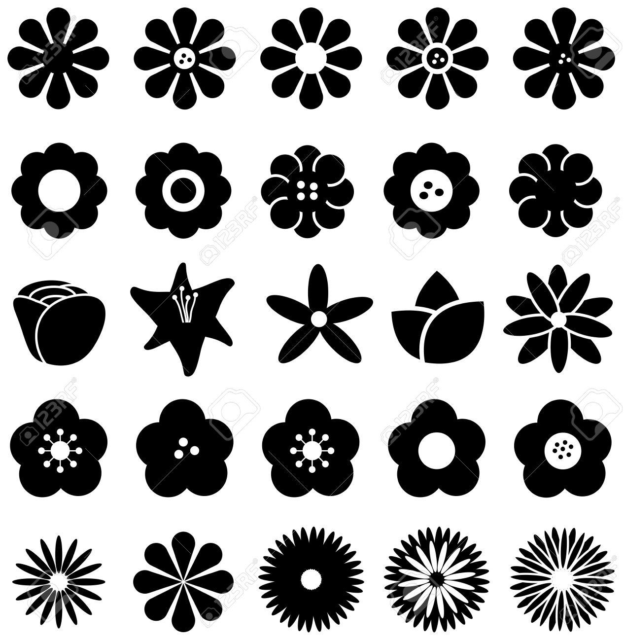 28,969 Sunflower Cliparts, Stock Vector And Royalty Free Sunflower ... for Clipart Sunflower Black And White  131fsj