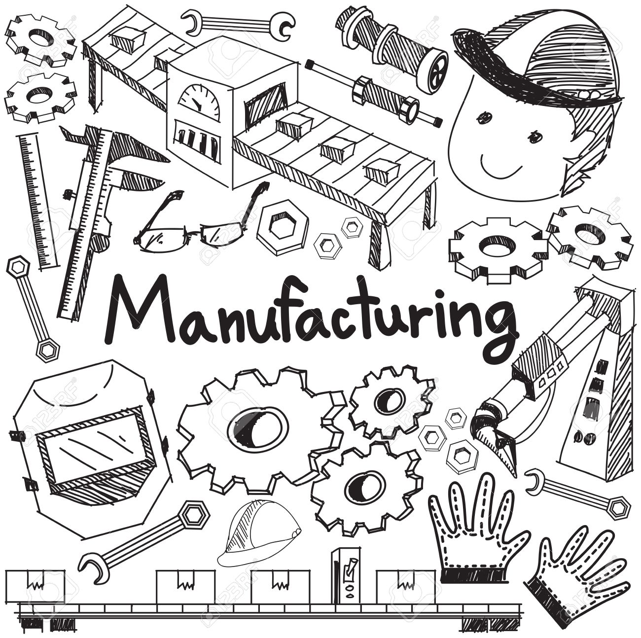 Manufacturing And Operation System In Factory Production Assembly