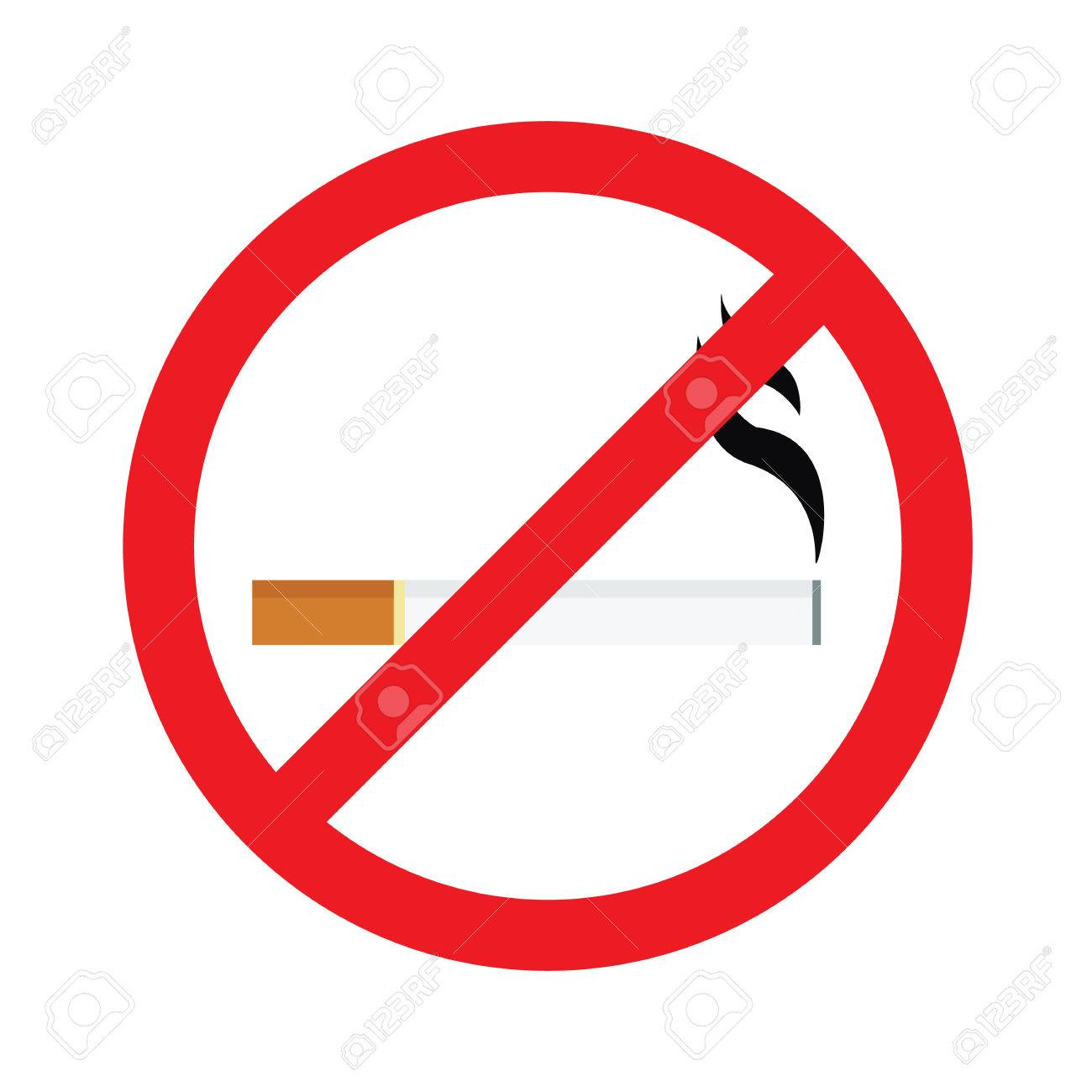 Nicht raucher zeichen