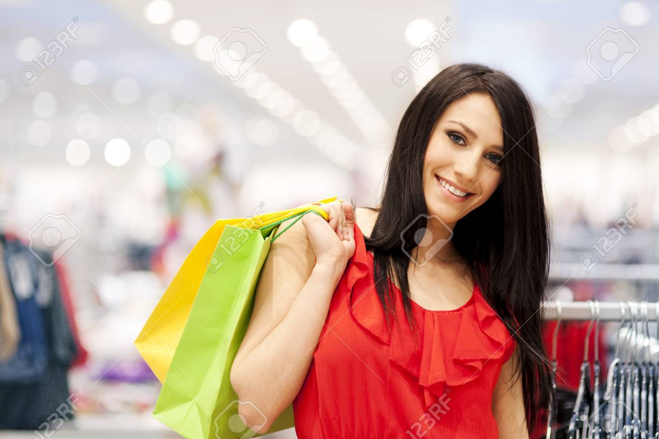 Shopping time Stock Photo - 18161196