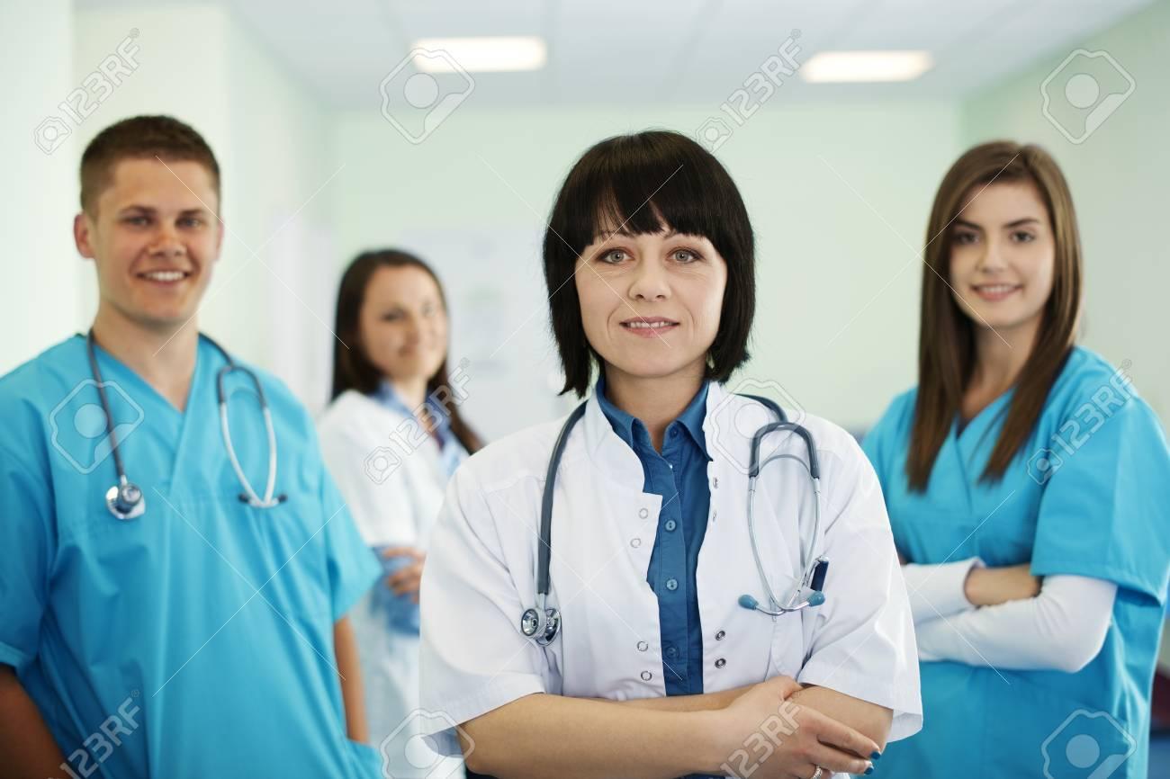 Successful medical team Stock Photo - 18182376