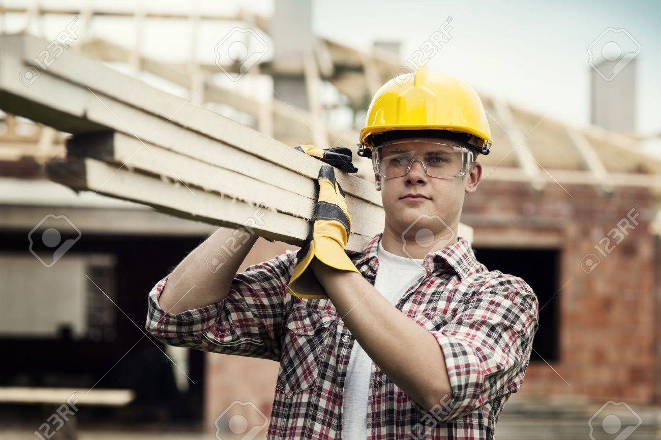 Construction Worker Stock Photo - 18184883