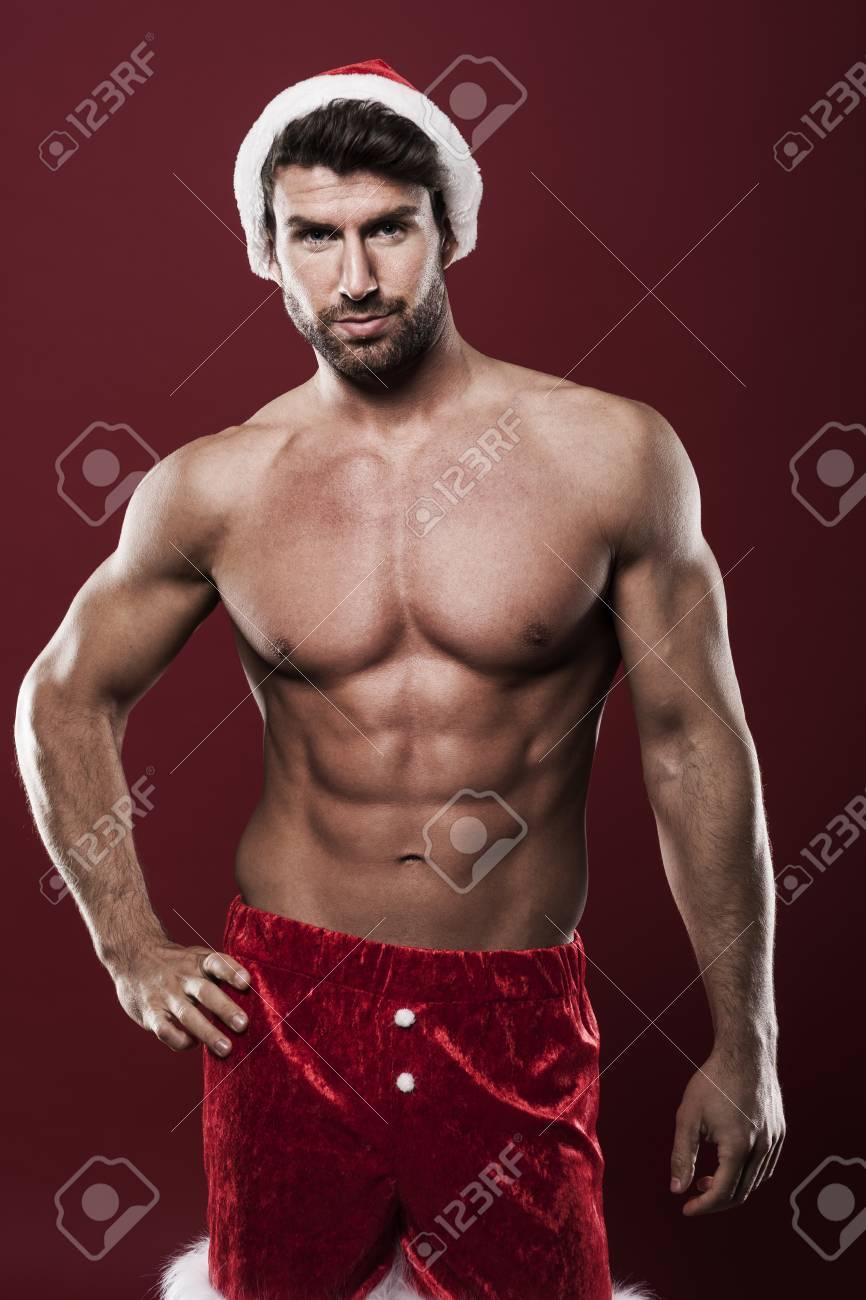Babbo Natale Uomo Bello.Immagini Stock Saro Il Tuo Babbo Natale Image 33276899