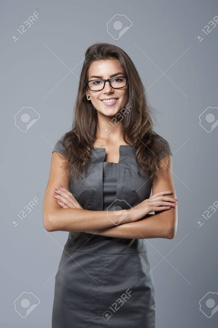 Beautiful woman is ready for work Stock Photo - 45520296