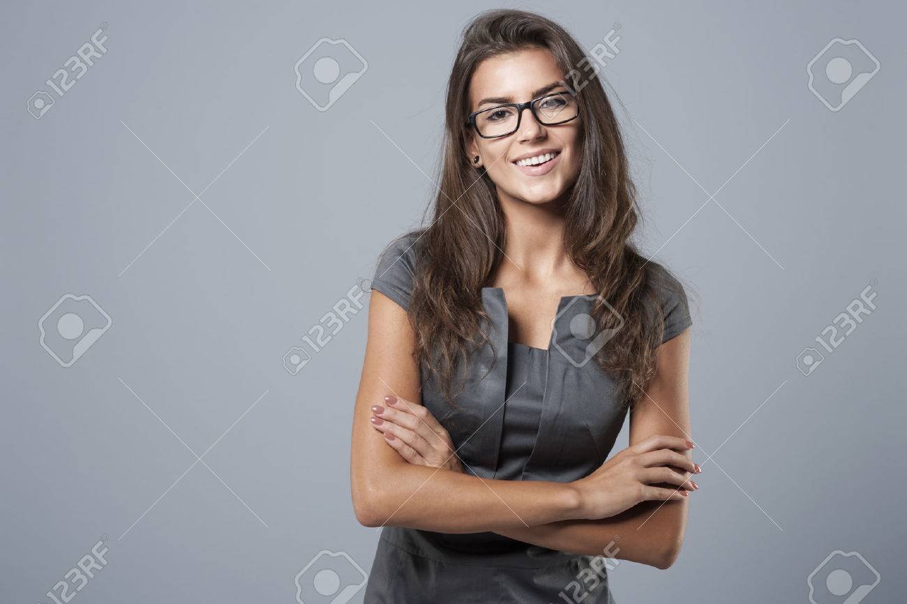 She is confident of business abilities Stock Photo - 45521495
