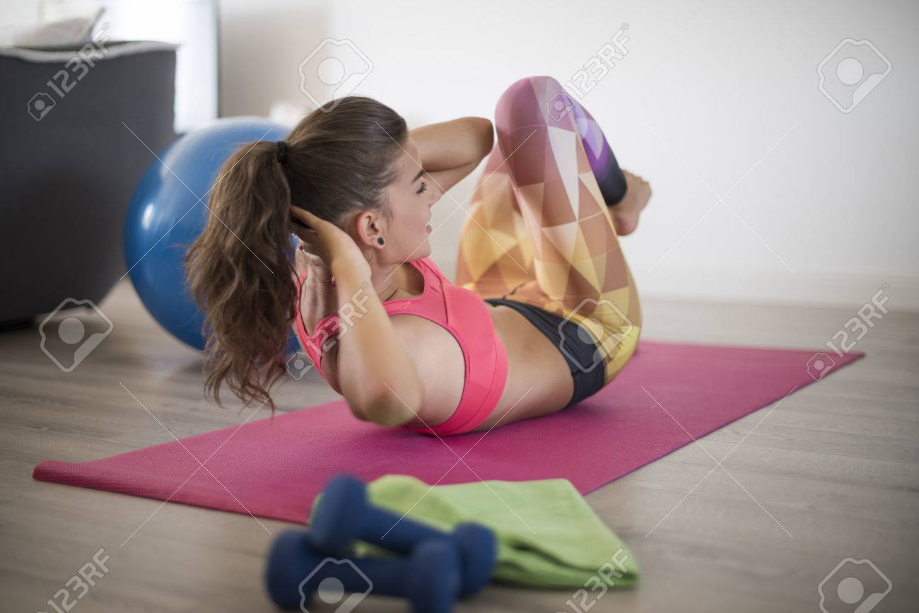 Healthy lifestyle has become my everyday routine Stock Photo - 45524383