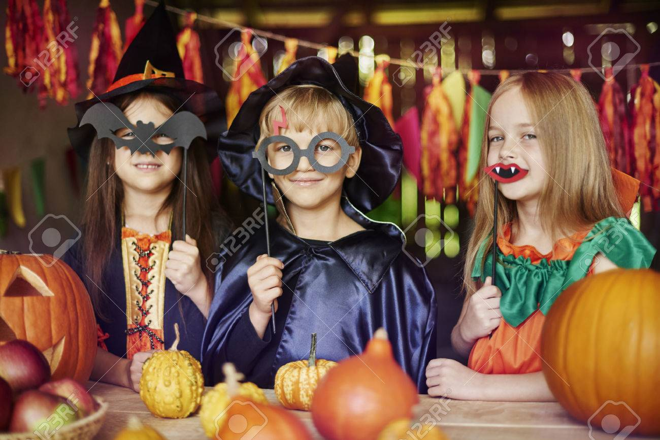 Dressing up is children's favorite game Stock Photo - 46450969