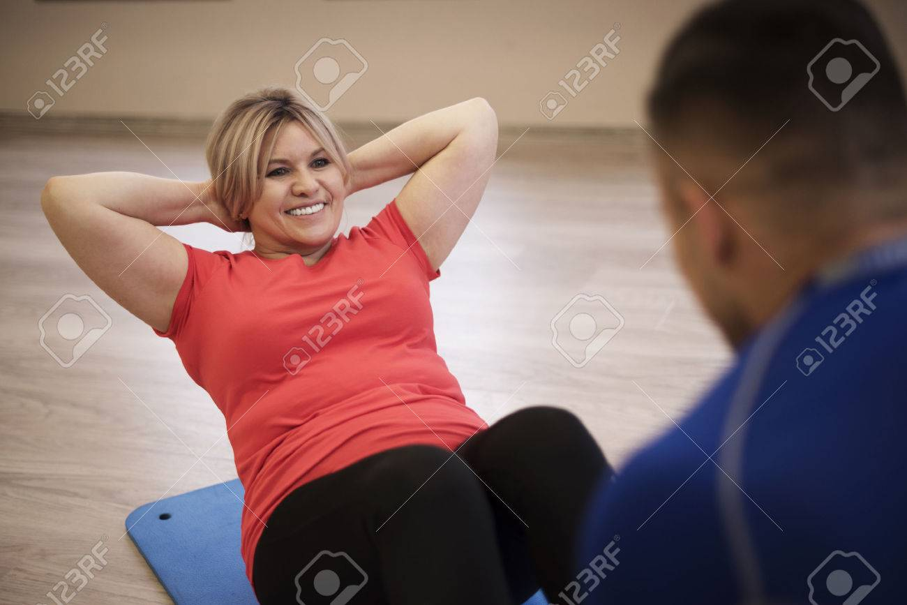 Good to have support in work on yourself Stock Photo - 53101237
