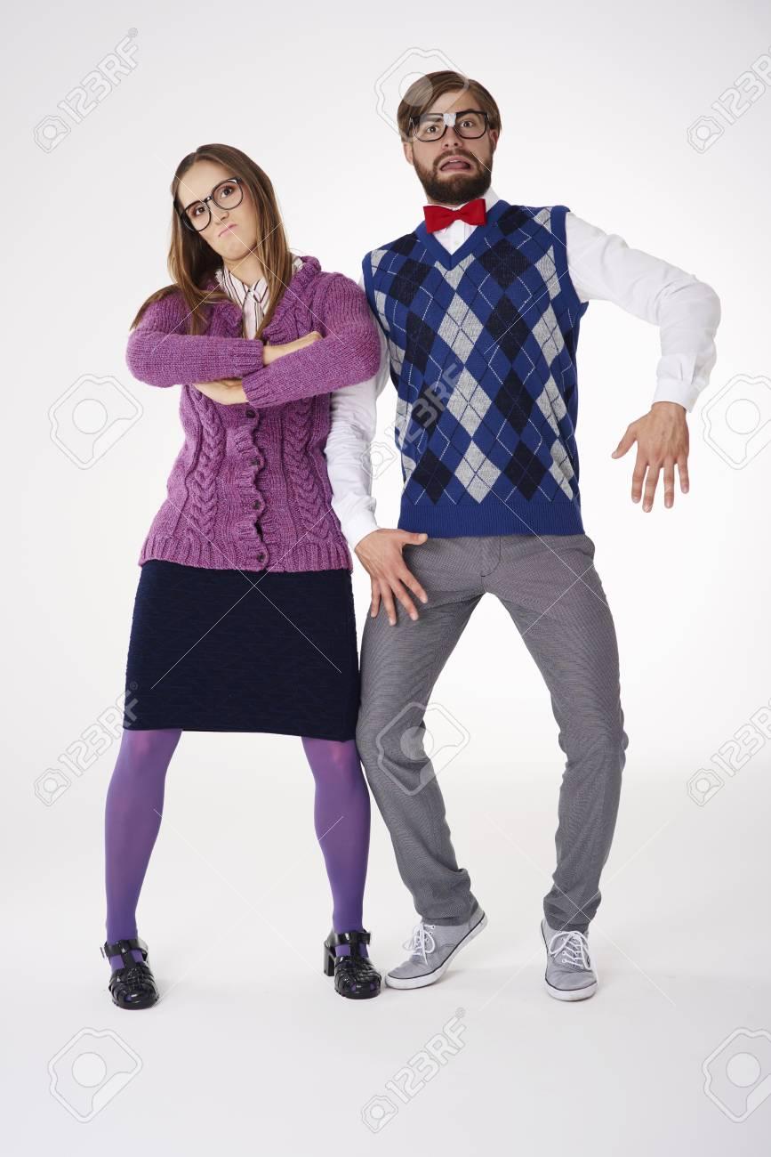 Weird Couple Stock Photos 7