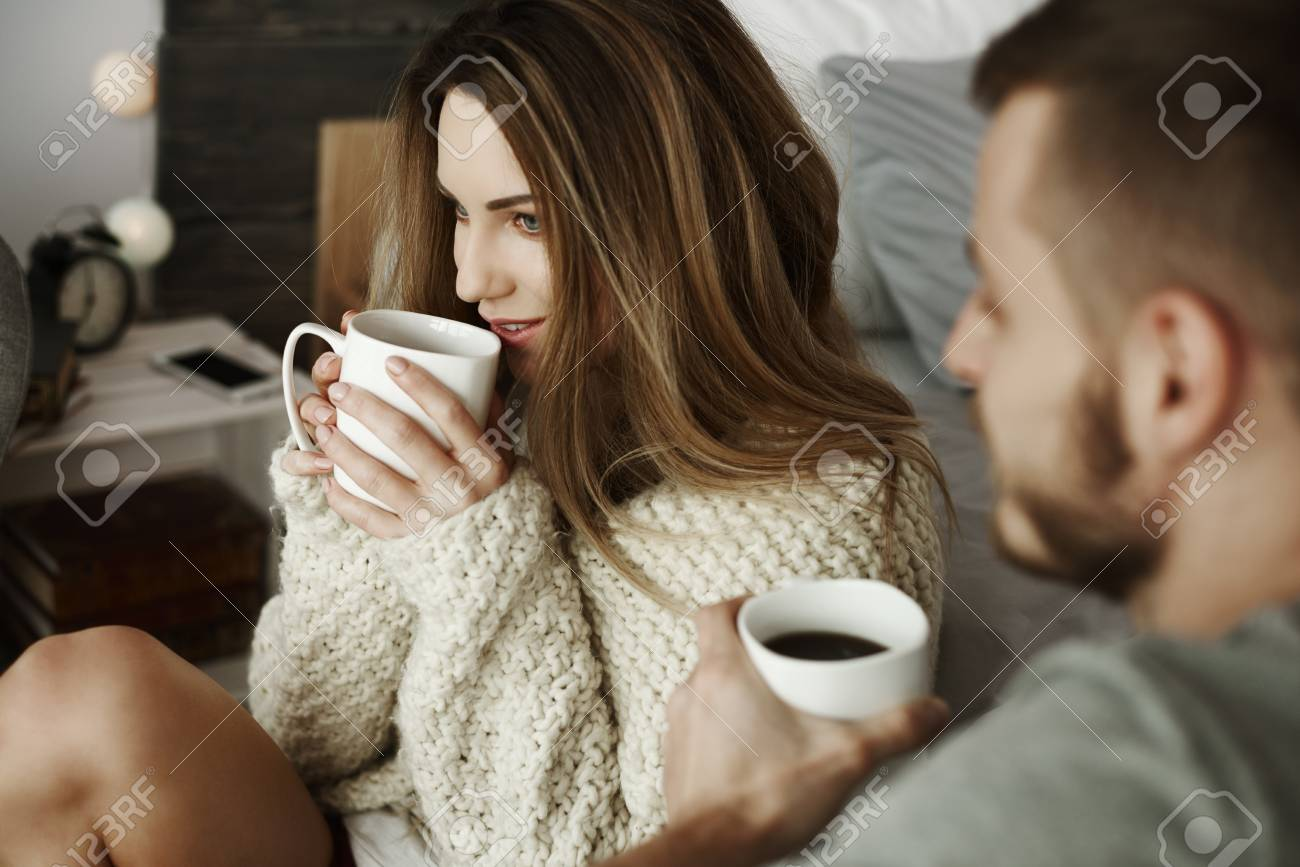 couple with coffee