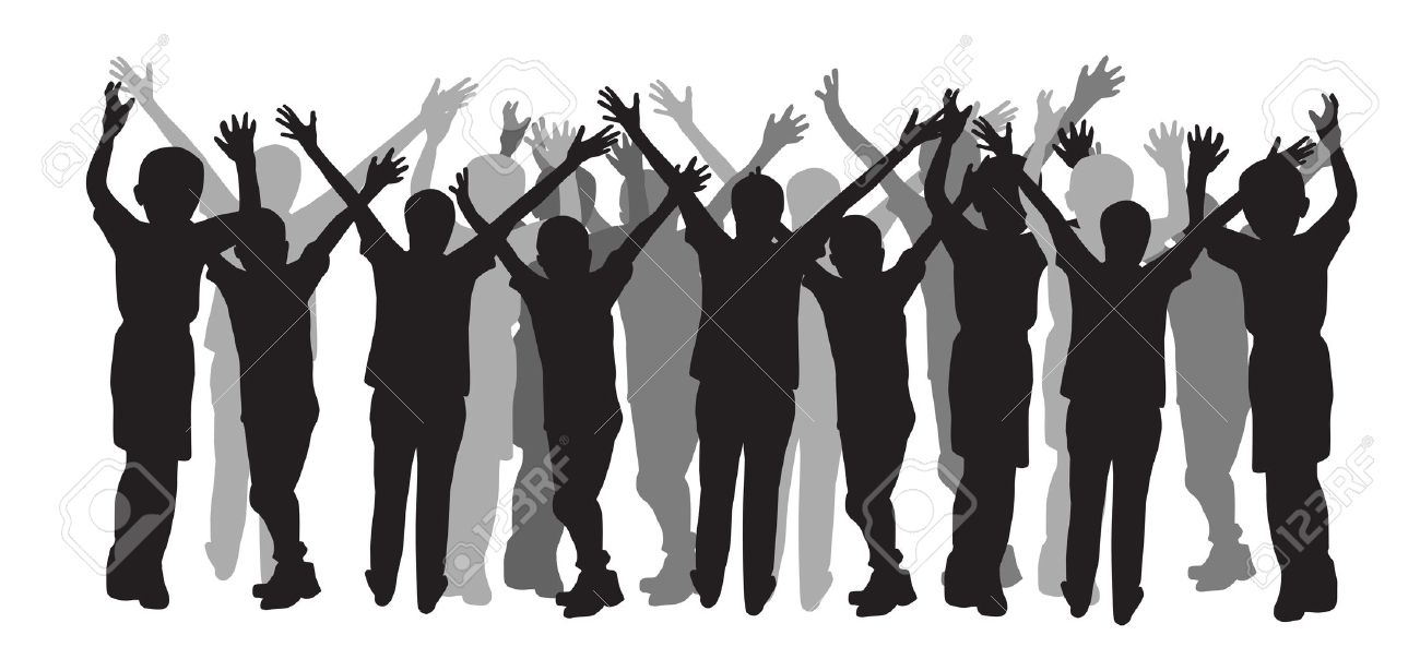 People silhouette Stock Vector - 20690327