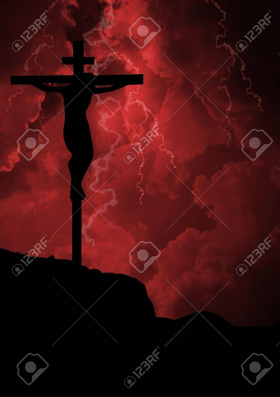 Jesus crucifixion Stock Photo - 21483654