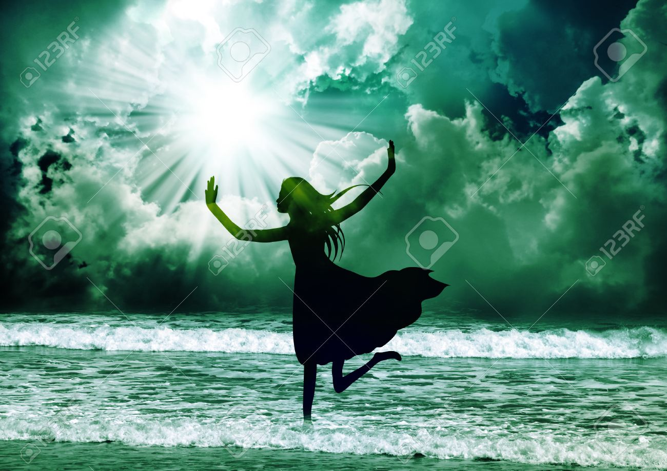 Praise the lord with dance Stock Photo - 27728133