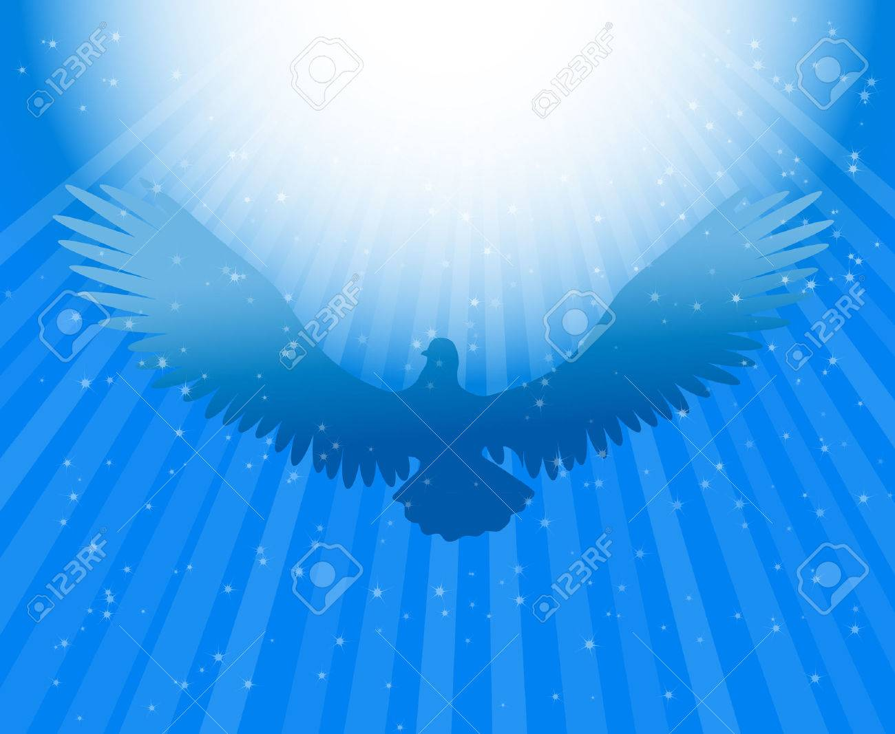 Holy Spirit dove Stock Vector - 29120174
