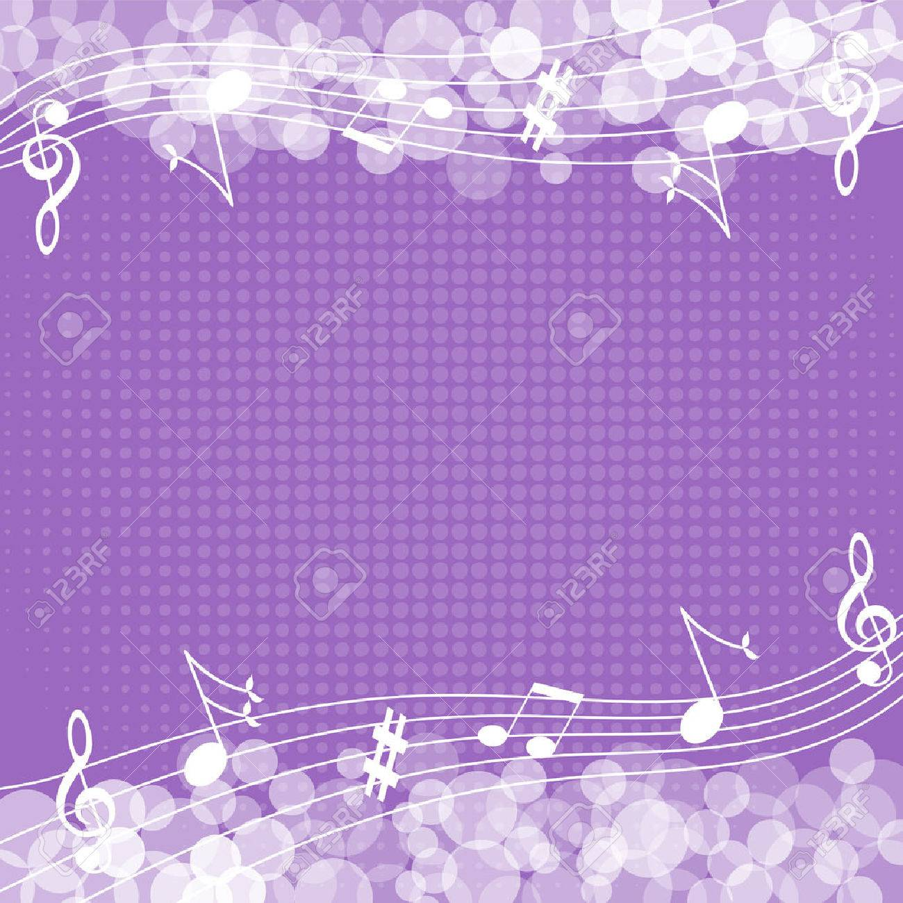Music notes background-Vector illustration Stock Vector - 39234924