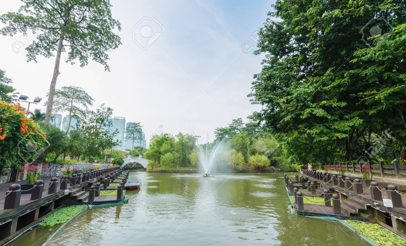 Kuala Lumpur,Malaysia - Aug 22,2018 : Lake Gardens also known as Kuala Lumpur Perdana Botanical Gardens, it is KL's first large-scale recreational park. - 107544280