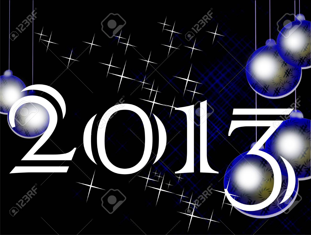 2013, new Year Stock Photo - 14256480