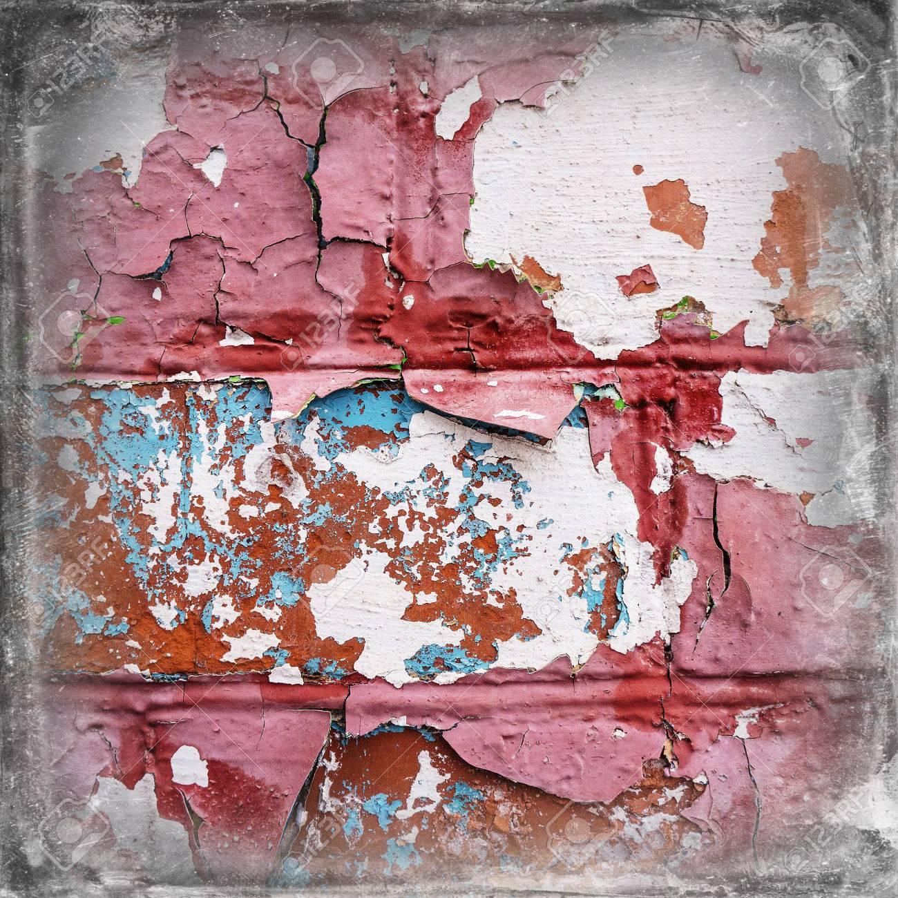 Peindre Ruine Mur De Briques Mur De Plâtre Banque Dimages Et Photos