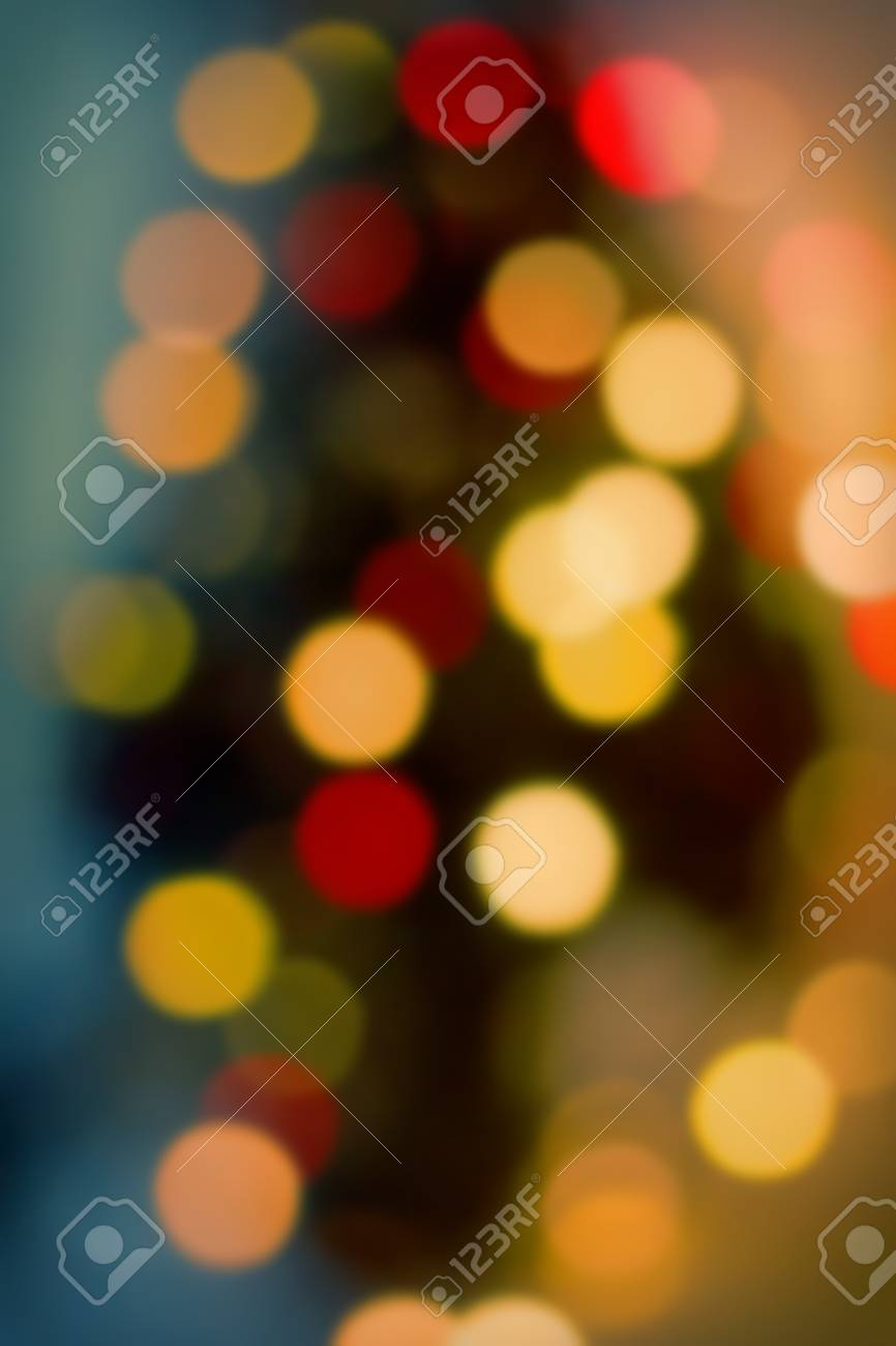 blurred background festive lighting festive christmas new year retro style