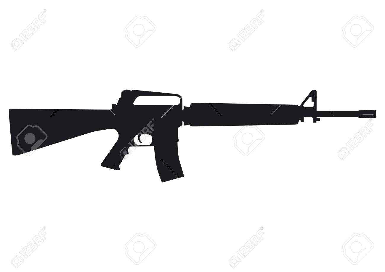Assault Rifle - US automatic rifle - 20735783