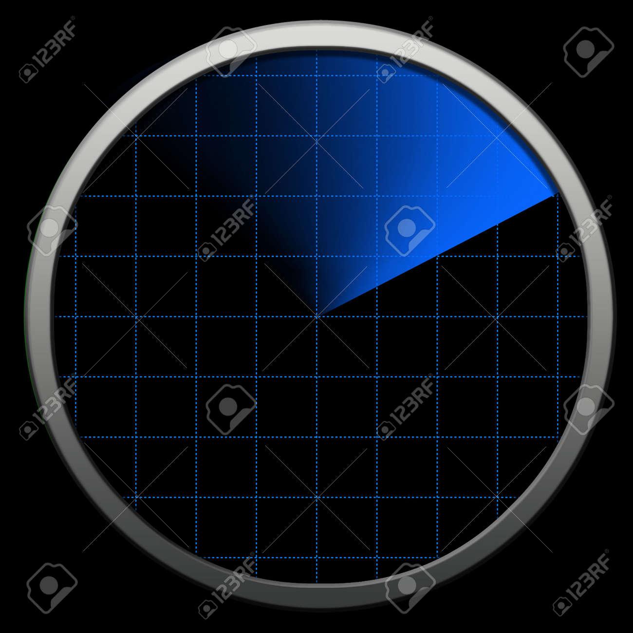 Globe bluetooth Radar.Radar tecnology Stock Photo - 2600720